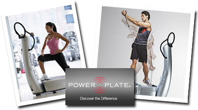 Power Plate Vibration Therapy