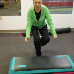 Chiropractic Technique Single Leg Box Jump